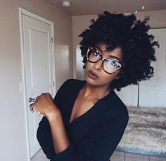 Natural Hair Styles and Fashion