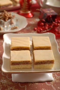 Orechový koláč so žĺtkovou polevou: Nemusí hýriť farbami, chuť je ale výborná Czech Recipes, Tiramisu, Ale, Cheesecake, Ale Beer, Cheesecakes, Tiramisu Cake, Cherry Cheesecake Shooters, Ales