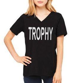 Trophy. T-shirt. Trophy T-shirt. Trophy Tee. by kmbcollection