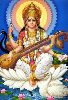 Goddess Saraswati-Jai Maa Saraswati