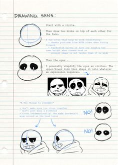 Tutorial how to draw sans Undertale Undertale, Undertale Drawings, How To Draw Undertale, Undertale Theories, Frisk, Art Reference Poses, Drawing Reference, Drawing Techniques, Drawing Tips