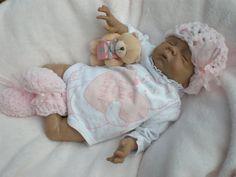 Belle poupée reborn par TheCrotchetCradle sur Etsy, $200.00