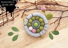 Spring Flower (MarinaBelle-MI) Tags: pink flowers summer flower cute green art wool nature agate fashion felted design beads spring colorful seasons felting handmade crafts brooch decoration craft jewelry felt jewellery collection bead romantic summertime handsewn accessories unusual feltro decoração flover multicolor handcraft filz accessory naturesfinest womanly fieltro brosche filtz