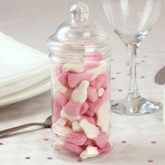 Strawberry Milkshake Bottles Candy Jar - Wedding Ideas Shop