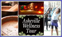 """Asheville Wellness Tour in downtown for the mind, body & soul!  Take a 2 hour tour where you can sample the unique """"wellness"""" of our area.  Relax the senses at Dobra Tea House, walk & stretch your way while exploring the charm of downtown & end at the Asheville Salt Cave to experience salt therapy.  You can even book a special massage.  Tours happen daily with limited space & times.   ashevillewellnesstour.com/   828-484-2298 #asheville #tour #health  AshevilleVacationHomes.com"""