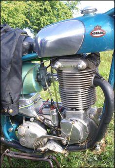 Vintage Bikes, Vintage Motorcycles, Cars And Motorcycles, Moto Trial, Mx Bikes, Old Bicycle, American Motorcycles, Motorcycle Engine, Classic Bikes