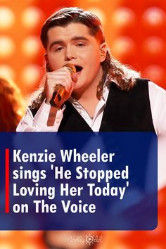 The Voice finalist Kenzie Wheeler offers a tribute song to honor his native country root. He gracefully sings 'He Stopped Loving Her Today' performed initially by Country superstar George Jones. The heartwarming and breathtaking performance by the strong contestant has left the judges in wonder, especially her voice coach Kelly Clarkson. #thevoice #kenziewheeler #countrymusic #music Live Music, Good Music, Native Country, George Jones, Kelly Clarkson, Country Music, The Voice, Love Her, Singing