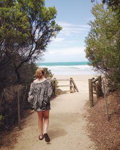 Off to the beach we go  #ocean #beach #sea #sand #waves #lorne #australia by kellyjellies http://ift.tt/1IIGiLS