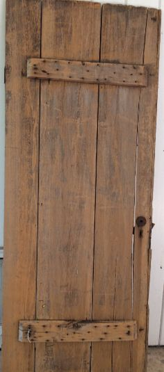 Antique, Farmhouse, Barn Door Table, Farmhouse Chic, Primitive Door - Ragtag Studio