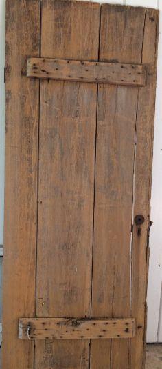 Antique, Farmhouse, Barn Door Table, Farmhouse Chic, Primitive Door - Ragtag Studio