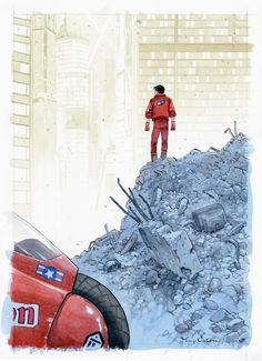 Tribute to Katsuhiro Otomo – 42 artistes rendent hommage au maître du manga