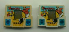 Two vintage Tiger Electronic Bowling Handheld Games - Tested Working