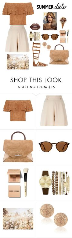 """""""Untitled #39"""" by maris-vladiana ❤ liked on Polyvore featuring Chloé, Givenchy, Ray-Ban, Bobbi Brown Cosmetics, Jessica Carlyle, Graham & Brown, Carolina Bucci and Lime Crime"""
