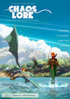 https://flic.kr/p/rhJA7W | Chaos Lore ::: Poster promocional | Diseñado con SketchUp, Adobe Illustrator y Adobe Photoshop.