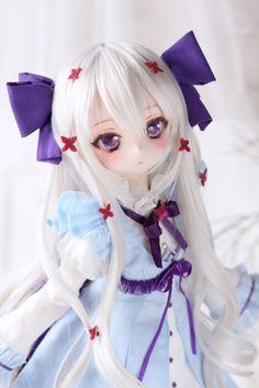 Kawaii Doll, Kawaii Anime Girl, Anime Art Girl, Anime Dolls, Blythe Dolls, Pretty Dolls, Beautiful Dolls, Barbie Images, Anime Figurines