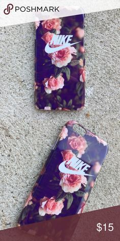 Nike Floral Case for any iPhone!! Brand New in the packaging ! High Quality dope printed iPhone case !3D printed design all around the case.   Price is firm unless looking for bundle deals. Then message me!   Same or next day shipping with USPS Tracking provided!   ***Message me or comment before purchase of the phone size you have, or else I will send the size in the title***  ALL CASES AVAILABLE FOR IPHONE 6/6S , 6 Plus / 6S Plus, iPhone 7, and iPhone 7 Plus!   Much more dope designs in…