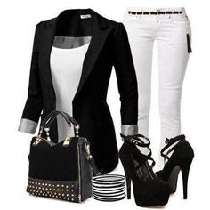white skinny pants outfit