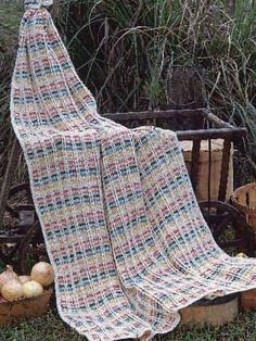 Fall Jewels Afghan By Eleanor Albano-Miles - Free Crochet Pattern With Website Registration - See http://www.ravelry.com/patterns/library/fall-jewels For Additional Projects - (freepatterns)