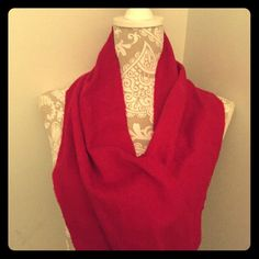 Dark Red Coach Scarf Dark Red Coach Scarf Coach Accessories Scarves & Wraps