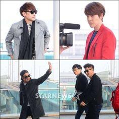 """Running Man"" Is Off to Australia with Rain and Kim Woo Bin!"
