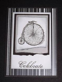 Stampin Up Feeling Sentimental - Masculine Card
