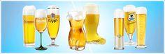 Von Bierseidel bis zum Weizenbierglas bis hin zum geeichten Maßkrug