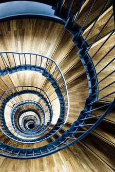 Open Newel Circular Stair - University of Music Karlsruhe via  Flickr