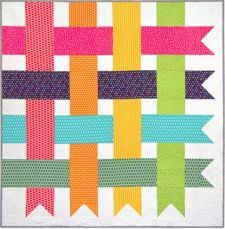 Free Pattern - Simple Streamers Quilt by Robert Kaufman