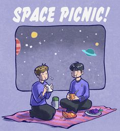 Space Picnic by Joanna-Estep.deviantart.com on @deviantART
