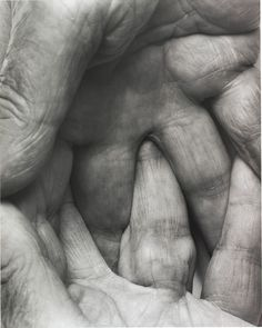 John Coplans, Interlocking Fingers No. 6, 1999