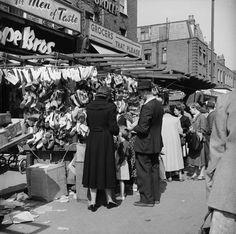 Chapel Street Market London 1955