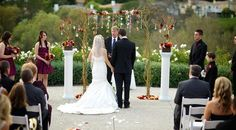This was a beautiful November Wedding with rich fall colors./ Weddings / Weddings & Events / Coto de Caza Golf & Racquet Club