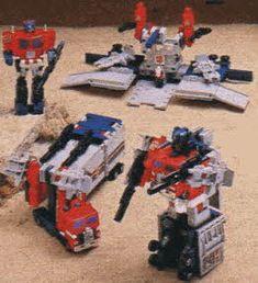 Classic 80s Transformers Optimus Prime