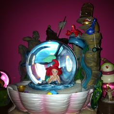 Disney snow globes ...... What a fun collectable :-)