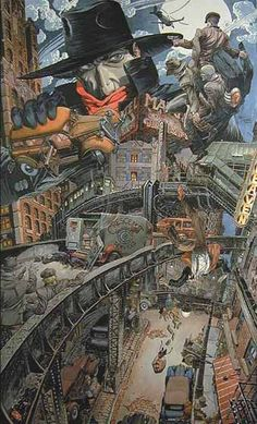 M.W.Kaluta: The Shadow Knows...