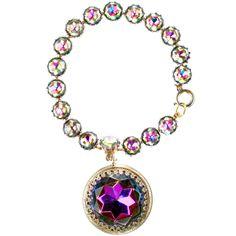 Schiaparelli Watermelon Aurora Fob Bracelet,