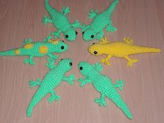 Cosy a Go Go: Free Crochet Gecko Pattern (link at bottom for US version)