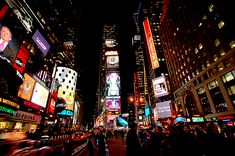 New York City Times Square- been there.. 3 times. :)