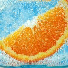 orange under water ipad 4 wallpaper hd