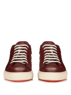 Nastro striped-back low-top leather trainers | Paul Smith