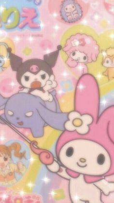 Sanrio Wallpaper, Hello Kitty Iphone Wallpaper, My Melody Wallpaper, Hippie Wallpaper, Retro Wallpaper, Kawaii Wallpaper, Iphone Background Wallpaper, Aesthetic Iphone Wallpaper, Cute Patterns Wallpaper
