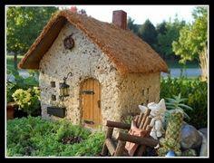 I'm making a fairy garden out of hypertufa by DKL911