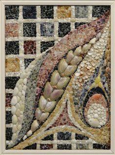 Mosaic by Valentina Sheitanova. Shells