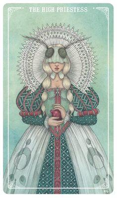 The High Priestess (Redo) - By Krista Gibbard