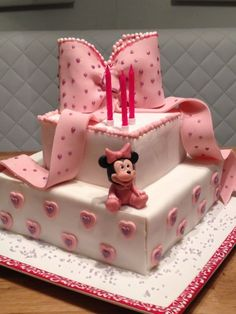 Minnie Mouse Motivtorte