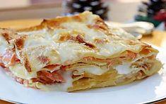 LASAGNE AL SALMONE ricetta primo piatto elegante