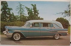 1957 Pontiac Hearse Superior Coach