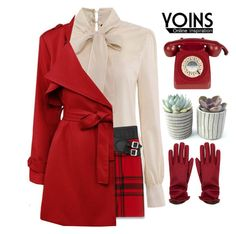 """#Yoins"" by credentovideos ❤ liked on Polyvore featuring Yves Saint Laurent, women's clothing, women's fashion, women, female, woman, misses and juniors"