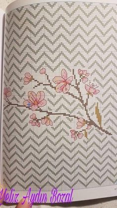 This Pin was discovered by ÖZN Cross Stitch For Kids, Cross Stitch Heart, Cross Stitch Borders, Cross Stitch Flowers, Cross Stitch Designs, Cross Stitch Patterns, Rico Design, Bargello, Blackwork