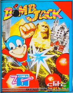 [1986] Bomb Jack II (Elite) | Bomb Jack (ボンジャック Bon Jakku?) is an arcade platform game that was released in 1984 by Tehkan (known today as Tecmo). It was followed by two official sequels, the console and computer title Mighty Bomb Jack, and the arcade game Bomb Jack Twin and the licensed for computers only Bomb Jack II [wiki: https://en.wikipedia.org/wiki/Bomb_Jack]